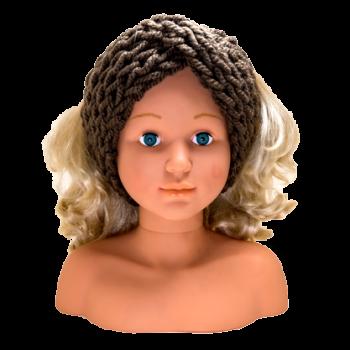 Traumschaf kreativ Einzelstück selbstgemacht gestrickt Stirnband