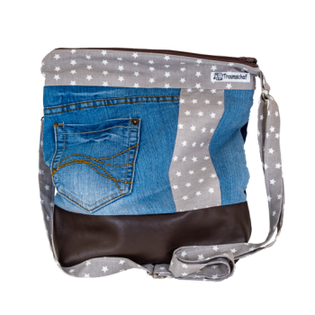 Traumschaf kreativ Einzelstück selbstgemacht genäht Tasche