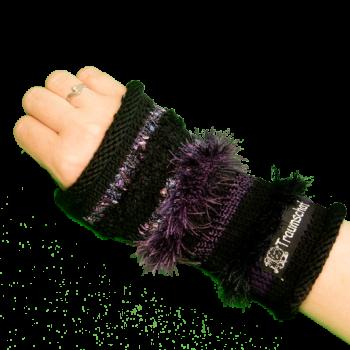 Traumschaf kreativ Einzelstück selbstgemacht gestrickt Armstulpen